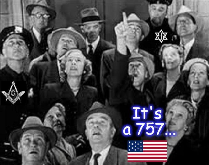 It's a 757 American Flag Mason Nazi