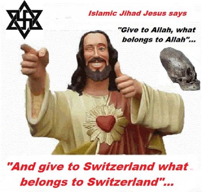 Jesus Christ ~ Allah ~ Conehead