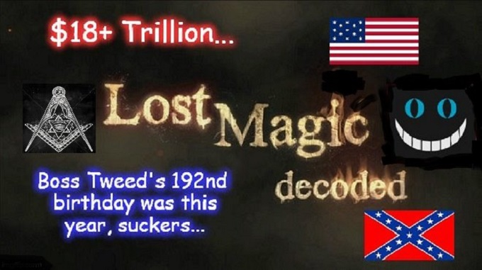 Lost Magic decoded Boss TWEED MASON 18 Trillion