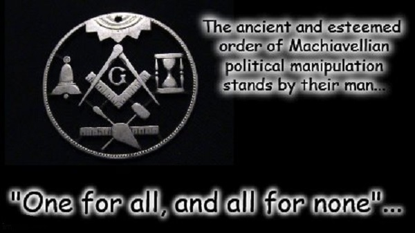 Mason ~ Ancient order stands by their man ~