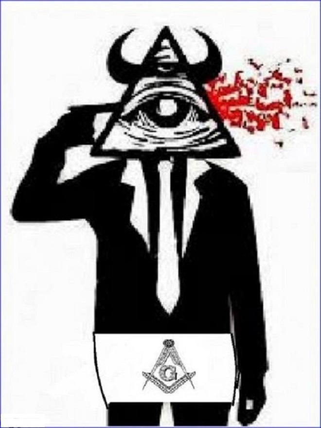 Masonic all seeing eye and Apron