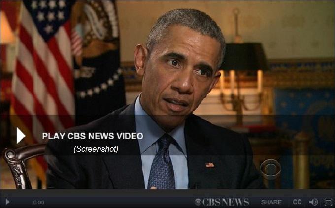 Obama 911 report CBS
