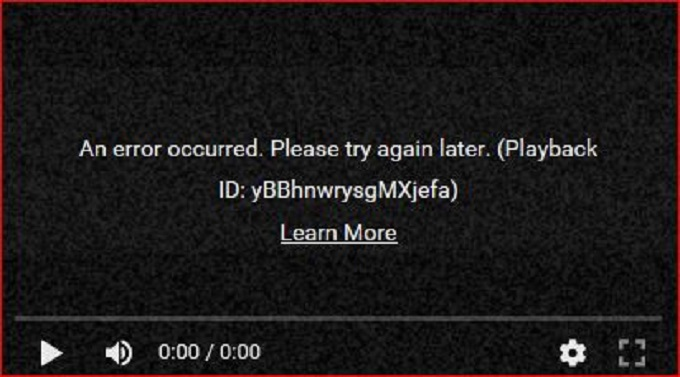 Operation Error Screenshot #03