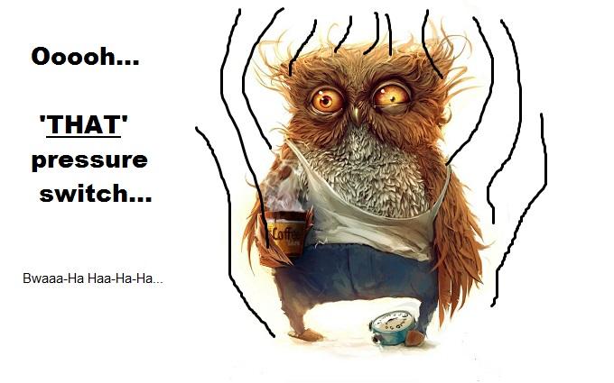 Owl shock pressure switch