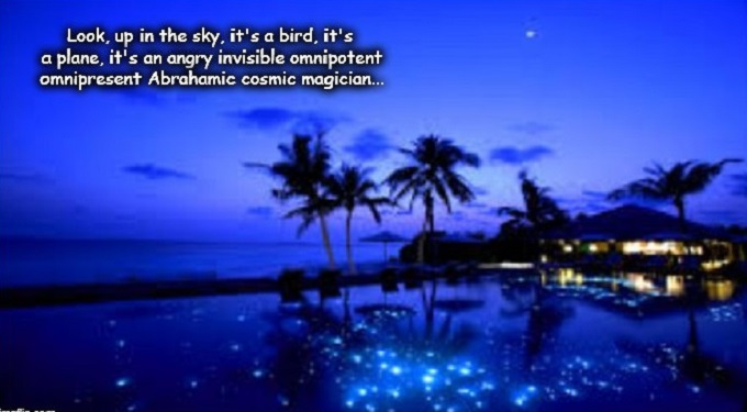 Paradise ~ Omnipotent omnipresent cosmic magician
