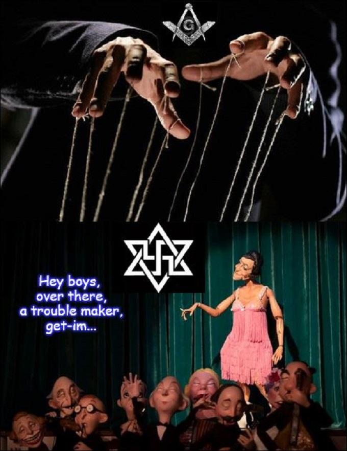 Puppet Mason Mason puppet girl on stage puppet audience LARGE 680