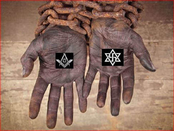 Slaves chains Masons Nazis Zion 680 LARGE