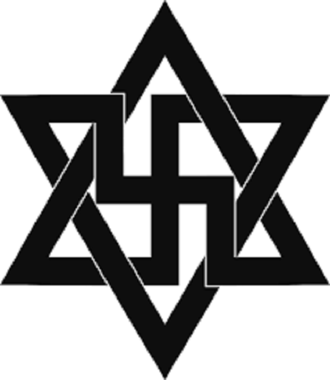 Swastika Star of David 680