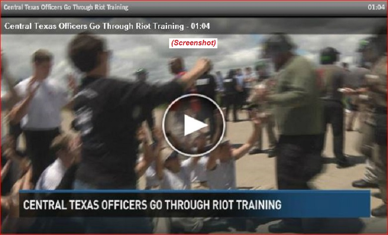 Texas Riot Training screenshot