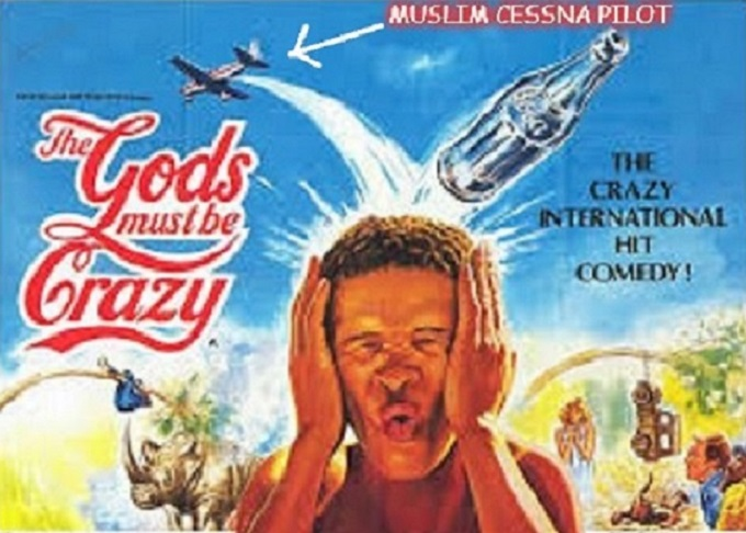 The gods must be crazy ~ Muslim Cessna pilot