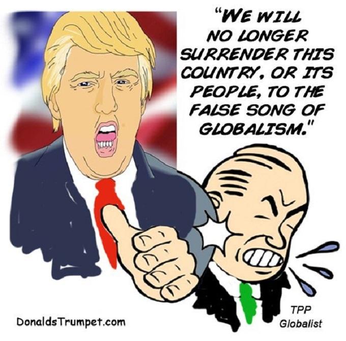 Trump bumo