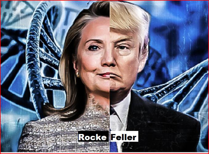 Trump Hillary Rockefeller
