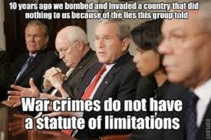 War crime Neocons