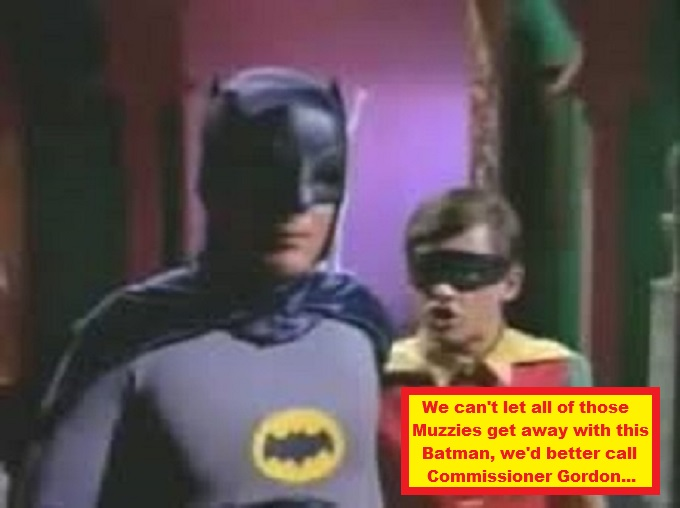 Batman and Robin MUZZIES