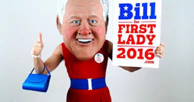 Bill Clinton first lady