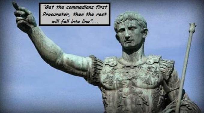 Ceasar Commedians