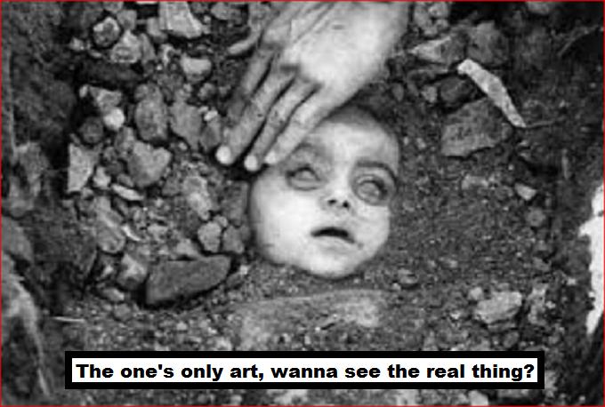 CHILD dead ART