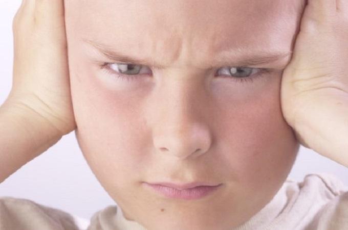 Child not listening eyes open