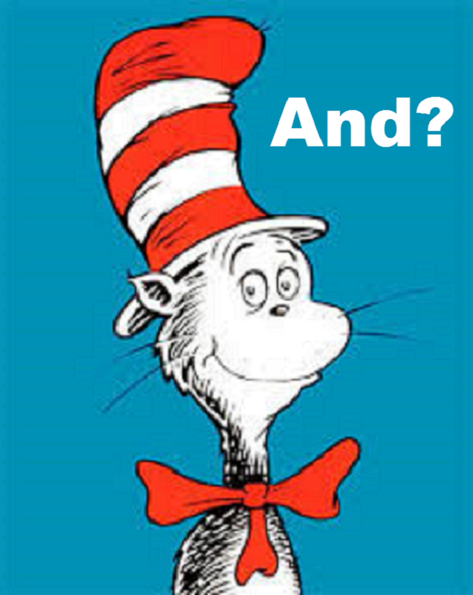 Dr Seuss Zeus Cat ~ And