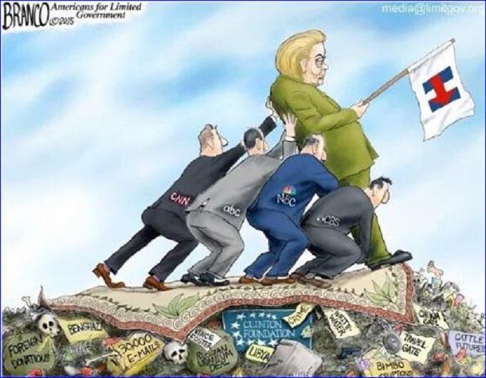 Hillary garbage PP Screenshot