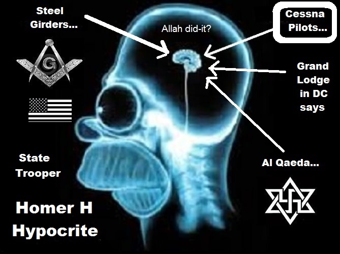 Homer HYPOCRITE Grand LODGE DC Allah CESSNA PILOTS