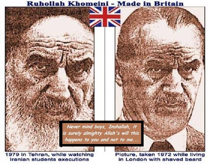 Khomeini Allah's will
