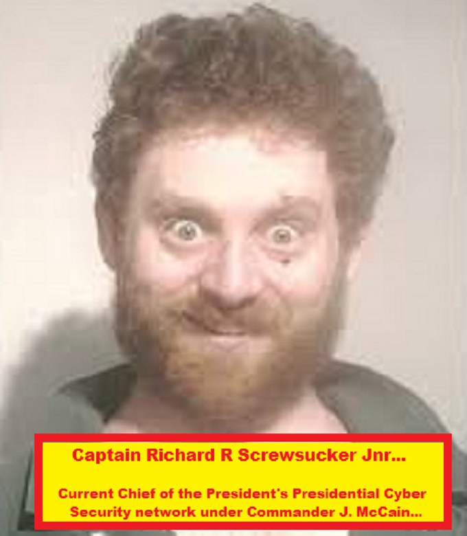 Meth is evil Captain Richard R Screwsucker McCain