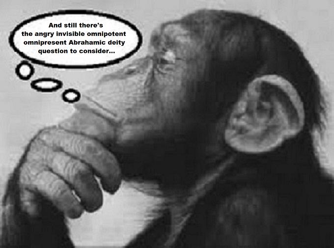 Monkey Abrahamic deity question