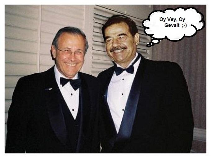 Rumsfeld Saddam