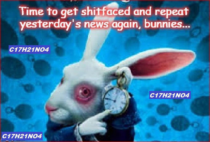 Senator Rabbit ~ Repeat C17H21NO4