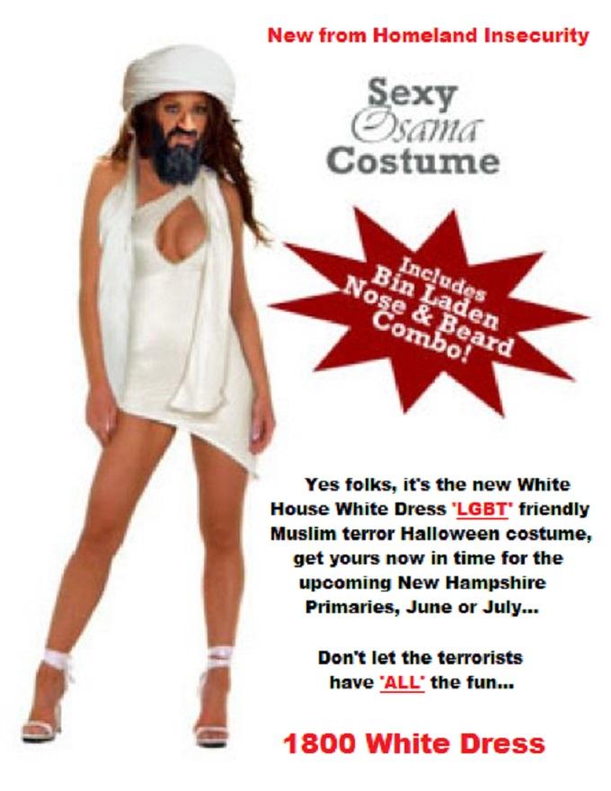 Sexy_Obama 1800 White Dress