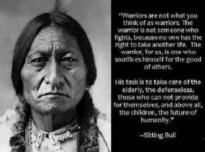 Sitting Bull American Indian
