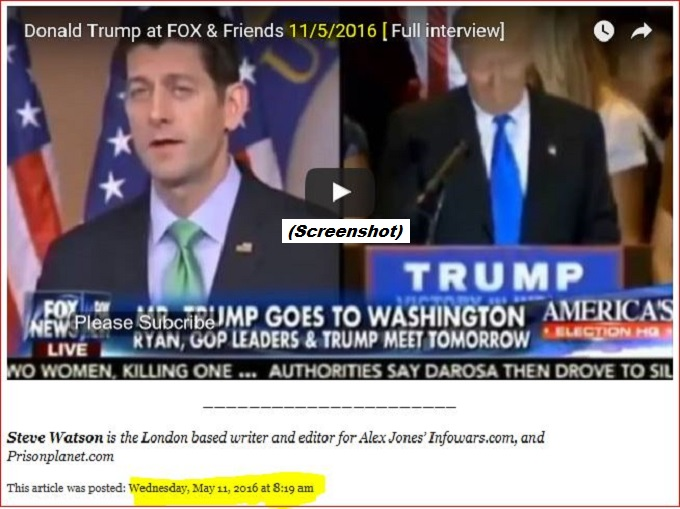 Trump Fox and friends PP Screenshot