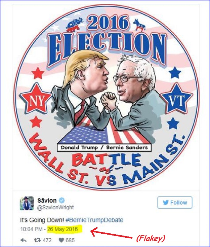 Trump Sanders PP Screenshot cartoon