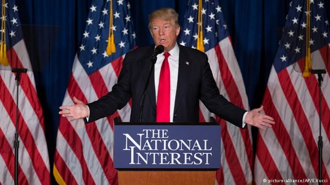 Trump the national interest