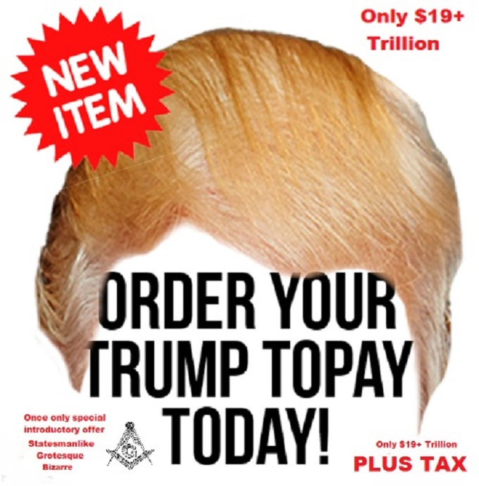 Trump Trillion Hair Piece ToPay