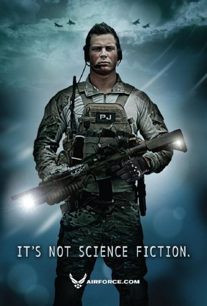 Air Force Science Fiction