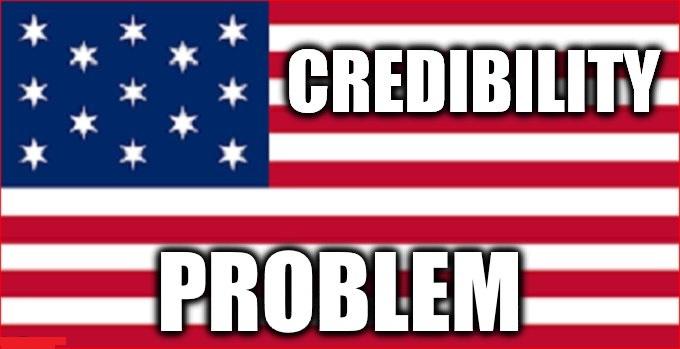 America credibility problem