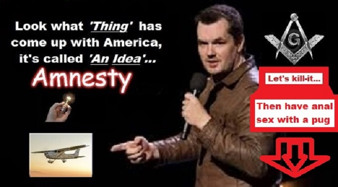 Amnesty THING Jim Jeffries Mason ANAL SEX WITH A PUG 680