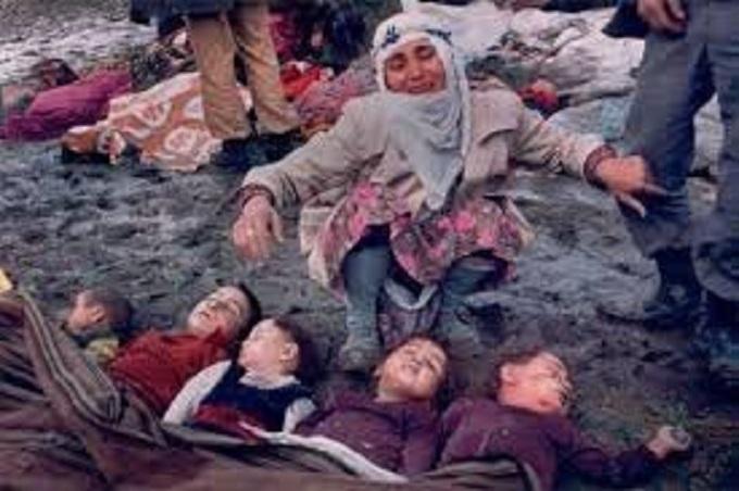 Dead Muslim children