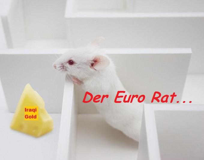 Der Euro Rat in Maze Iraqi Gold