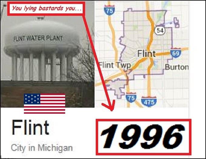 Flint Michigan YOU LYING BASTARDS TWO