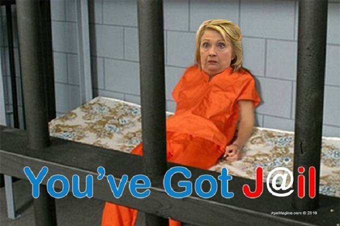Hillary you've got jail