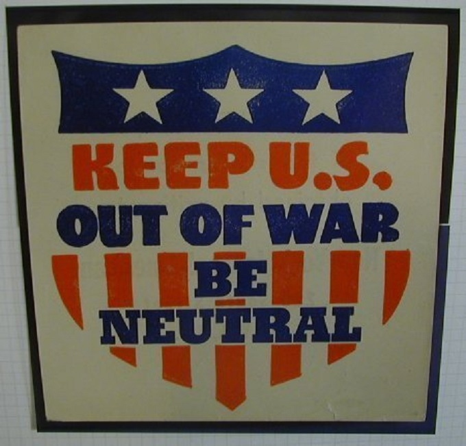 Keep US out of War x Istrael's wars