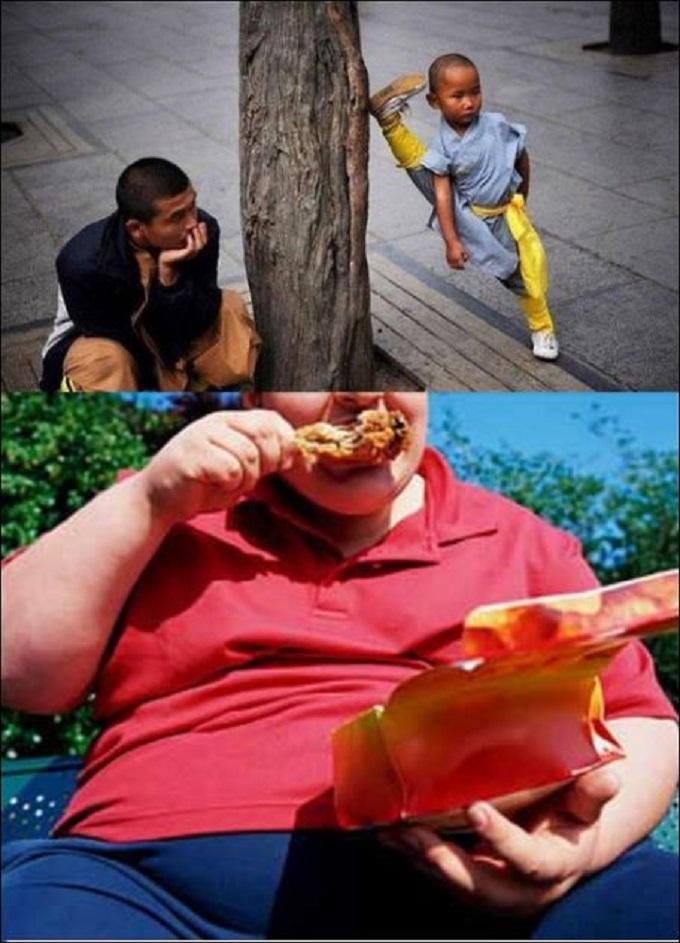 Kung Fu x Fat kid