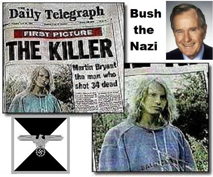 Martin Bryant Nazi Eugenics Bush Nazi