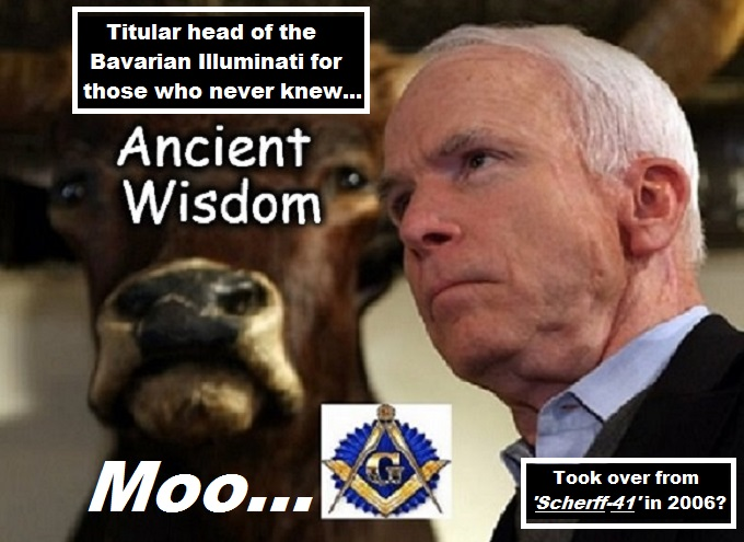 McCain Bavarian Illuminati Ancient Wisdom
