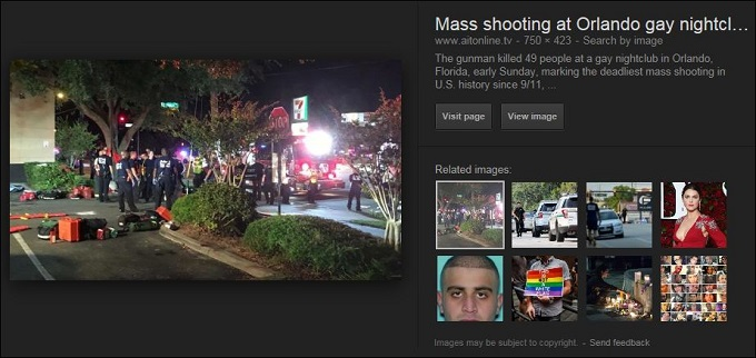 Orlando shooting screenshot two