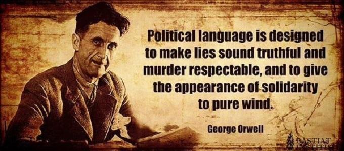 Orwell ~ Lies