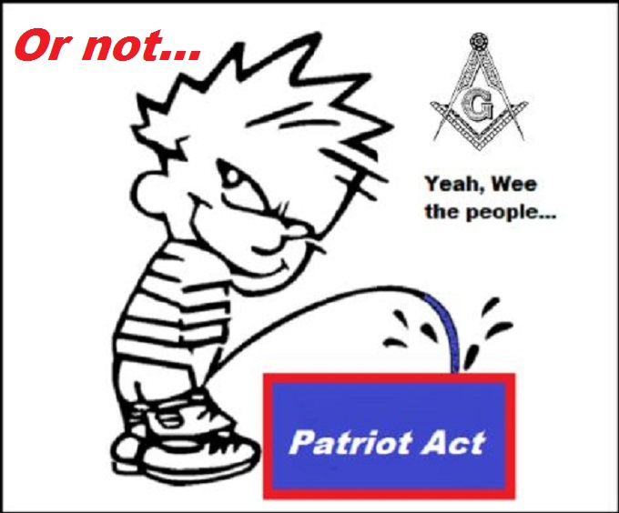 Patriot Mason Act or not
